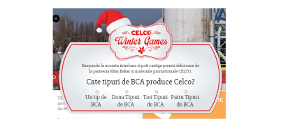 CELCO Winter Games 2014
